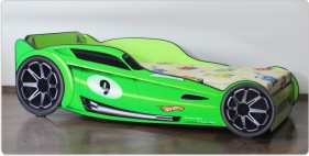 Pat Hot Wheels Verde